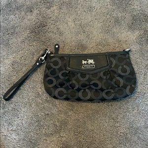 Large Coach wristlet / mini purse !